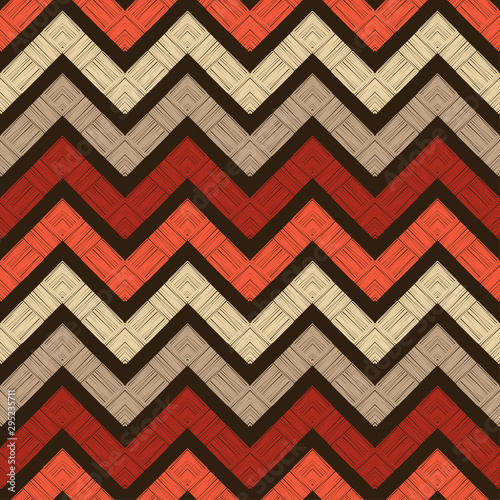 zigzag-ethnic-boho-seamless-pattern-lace-embroidery-on-fabric-patchwork-texture-weaving-traditional-ornament-tribal-pattern-folk-motif-vector-illustration-for-web-design-or-print