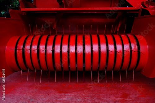 Photo Machinery spare parts of balers machine