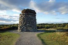 Memorial Cairn At Culloden Bat...