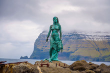 Statue Of Selkie Or Seal Wife ...