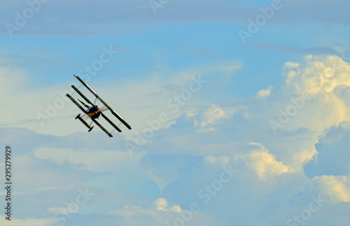 Photo Fighter plane on the sky
