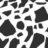 Bezszwowe wzory Memphis z geometrycznymi. - 295284507