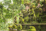 Monkey Forest - a sacred and popular tourist spot, Ubud, Kabupaten Gianyar, Bali, Indonesia