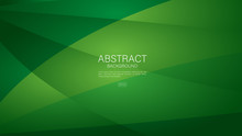 Green Polygon Background Vector Can Be Use Cover, Banner, Wallpaper, Flyer, Brochure, Book, Printing Media, Card, Web Page. Triangles  Abstract Background