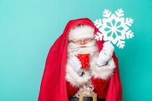 Santa Claus Having A Fever