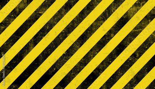 Fototapeta abstract background with hazard stripes