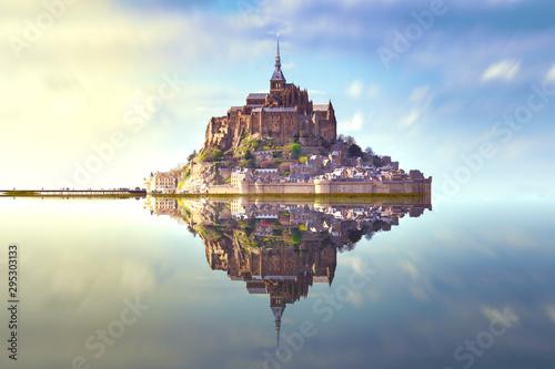 Obraz Mont saint Michel France - fototapety do salonu