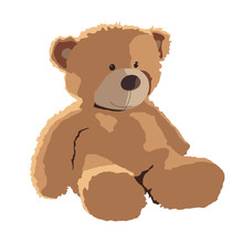 Teddy Bear Vector Illustration...
