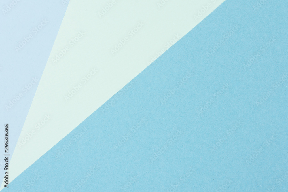 Fototapety, obrazy: Collection of blue pastel paper sheets