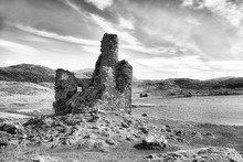 Ardvreck Castle On The Shores Of Loch Assynt