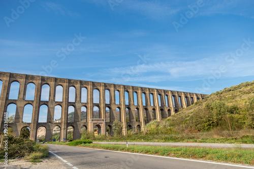 Slika na platnu The Caroline Aqueduct by Vanvitelli, the aqueduct created to feed the San Leucio