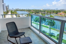 Miami Bay View Balcony