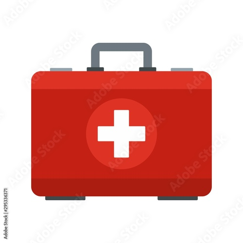 First aid kit icon Canvas Print