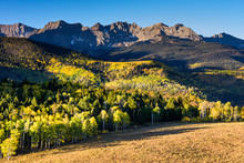 Beautiful Autumn Color In The San Juan Mountains Of Colorado.