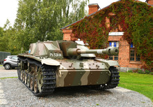 Sturmgeschutz III (StuG III) Assault Gun Was Germany Most-produced Fully Tracked Armoured Fighting Vehicle. In 1943, Finland Bought 30 Sturmgeschutz. It Is StuG III Ps.531-14 Vappu