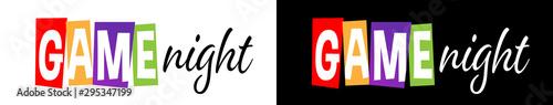Obraz Game night - fototapety do salonu