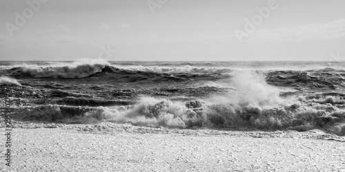 Photo Reynisfjara beach - spiaggia nera in Islanda