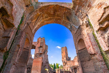Terme Di Caracalla Ot The Bath...