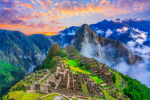 Machu Picchu, Cusco,Peru: Over...
