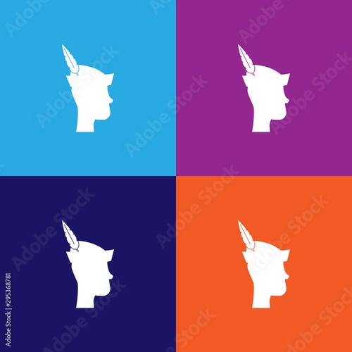 Peter Pan silhouette Canvas Print