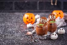 Halloween Dessert In Shape Of ...
