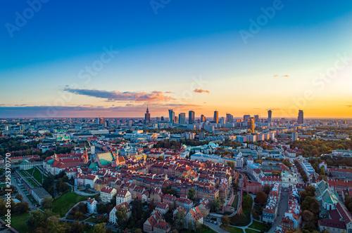 Warszawa - fototapety na wymiar