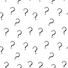 Seamless Pattern With Question...