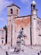 Equestrian Statue Of Pizarro In Front Of The Church Of Santa Maria La Mayor In Trujillo. January 29, 2010. Trujillo, Caceres, Extremadura, Europe. Travel Tourism Street Photography
