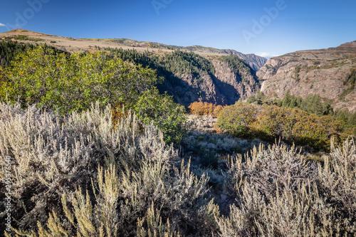fall mountain landscapes of Colorado