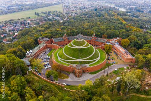 Fototapeta Kosciuszko Mound - Kraków (Poland, krakow) obraz