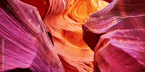 Photo sur Toile Antilope Lower Antelope Canyon, Arizona, USA