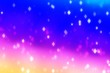 canvas print picture - Background texture shine shiny bokeh, wallpaper.
