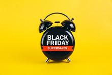 Black Friday Concept. Alarm Cl...
