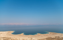 Aerial View Of The Dead Sea Sh...