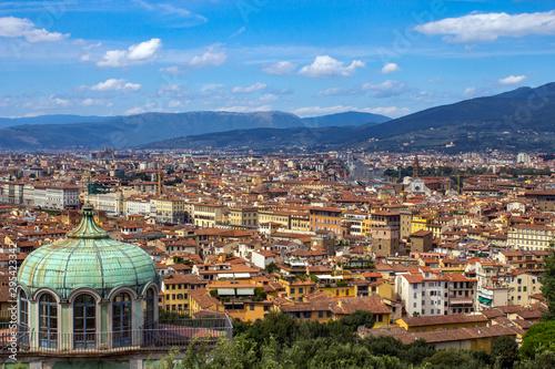 Naklejka premium Florencja Firenze