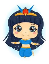 Kid Girl Egyptian Goddess Nut ...