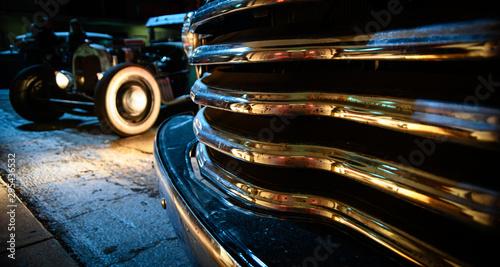 Obraz na płótnie Hot Rod Car Park