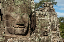 The Enigmatic Smile Of The Bayon, Siem Reap, Cambodia