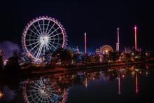 Ferris Wheel At Volksfest, Can...