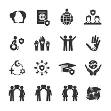 Vector Set Of Tolerance Icons.