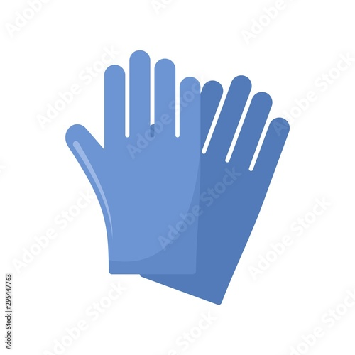 Photo Rubber gloves icon