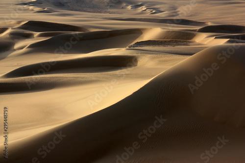 Beautiful Sand Dunes in the Sahara Desert near Siwa Oasis, Egypt
