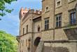 Medieval Castle in an Italian Village
