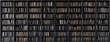 Leinwanddruck Bild - Bookshelves in the library with old books 3d render 3d illustration