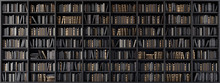 Bookshelves In The Library Wit...