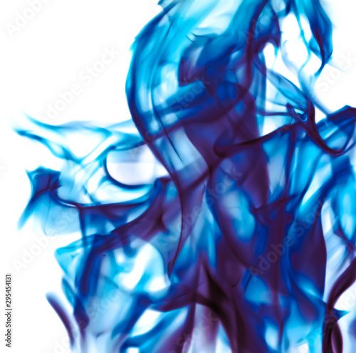 Abstract wave background, blue element for design - 295454131