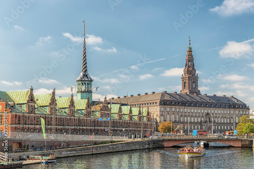 Copenhagen Tourist Sightseeing Canvas Print