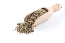 Cannabis Hemp Seeds In Scoop O...