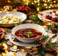 Christmas Mushroom Soup, A Tra...