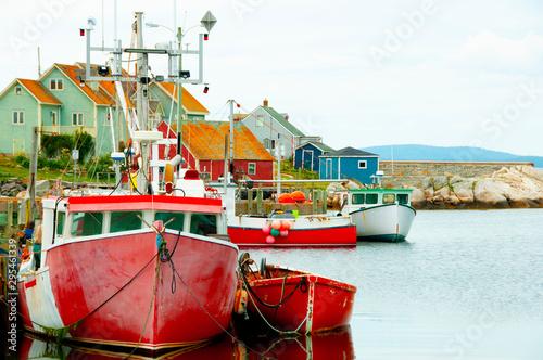 Fotomural Peggys Cove - Nova Scotia - Canada
